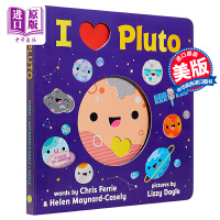 【中商原版】我爱冥王星 I Heart Pluto 宝贝大学Baby University系列 幼儿宇宙太空知识科普绘本