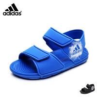 阿迪达斯童鞋17年夏季新款童鞋儿童凉鞋男女中童沙滩凉鞋 BA9288
