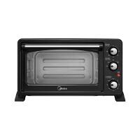 美的(Midea)电烤箱 25L 黄金比例容量 不锈钢发热管 上下管发热 立方体内胆 T3-252C(LJ )