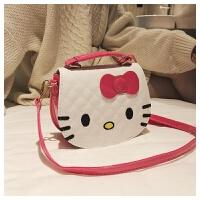 韩版时尚儿童单肩斜挎包Hello Kitty猫咪小背包零钱包女可爱卡通