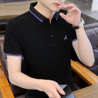 POLO短袖 2021夏季新款男款韩版潮流衬衫领POLO衫短袖 Y713男装