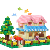 塑料积木玩具儿童拼搭拼插男女孩大颗粒百变钻石积木3-6周岁
