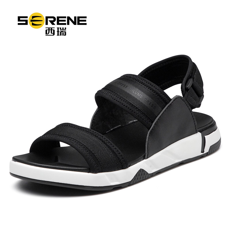西瑞罗马凉鞋男士韩版透气沙滩鞋软底运动青年休闲鞋2018新款夏季2201
