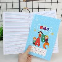 包邮5本装英语本小学生卡通可爱韩国创意小清新A5 学生作业本子多款选