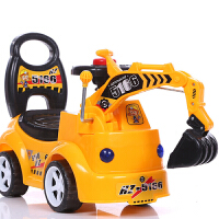 儿童玩具挖掘机大号挖机可坐可骑音乐工程车男孩礼物