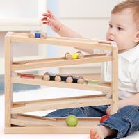 儿童汽车玩具1-2-3周岁男孩宝宝轨道滑翔回力惯性小汽车耐摔 轨道飞翔