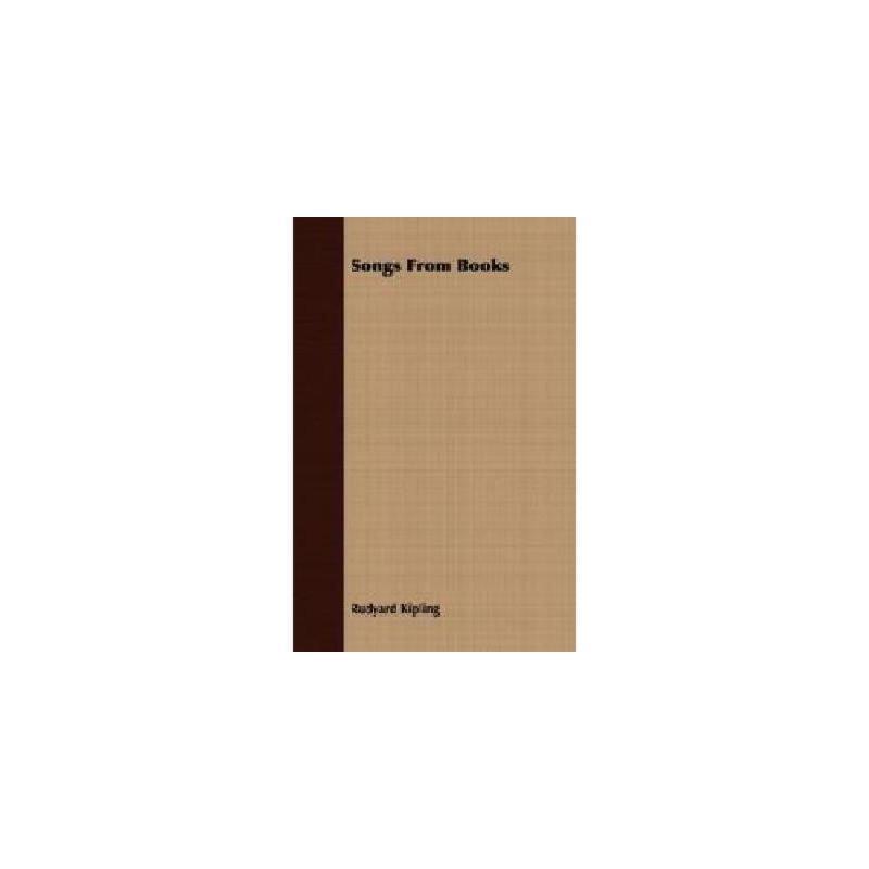 【预订】Songs from Books Y9781406791303 美国库房发货,通常付款后3-5周到货!