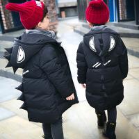 儿童冬装男童棉衣2018新款4外套5加厚6棉袄7小男孩加绒810岁9