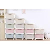儿童衣服收纳柜 抽屉式储物柜婴儿宝宝衣柜宜家玩具整理柜