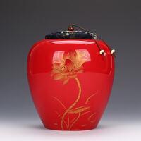 铁观音一斤装大号茶叶罐陶瓷家用密封罐普洱茶醒茶罐