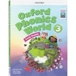 (100减20)新版 oxford phonics world 3 Long Vowels 牛津自然拼读法 英文原版