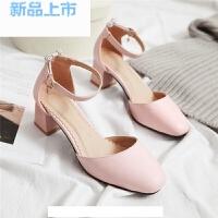 韩版女童凉鞋包头公主鞋2018童鞋夏季儿童小女孩高跟鞋礼服鞋