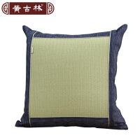 黄古林和草抱枕套汽车沙发靠背套和草靠垫套不含芯