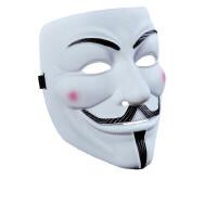 鬼步舞街舞化妆舞会面具男全脸小丑v字恐怖鬼脸仇杀队死神