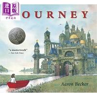 【中商原版】凯迪克:旅程Journey 英文原版 全彩绘本 3~6岁 名家