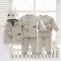 婴儿礼盒棉衣满月新生儿衣服秋冬季棉中厚宝宝衣服满月礼物