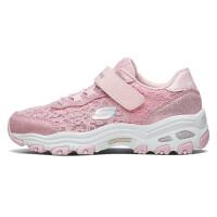 【*注意鞋码对应内长】Skechers斯凯奇女童鞋新款D'lites蕾丝熊猫鞋 休闲鞋 664086L