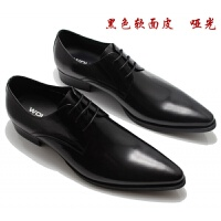 CUM 潮牌尖头皮鞋男士商务正装英伦男鞋流低帮鞋
