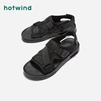 【限时特惠 1件4折】热风男士休闲凉鞋H65M9206