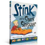Stink系列第9部 Stink and the Shark Sleepover Judy Moody系列同名作者Me
