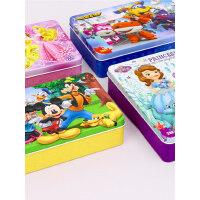 超级飞侠平图拼图 木质铁盒60/100/200 儿童益智玩具3-6岁女孩公主