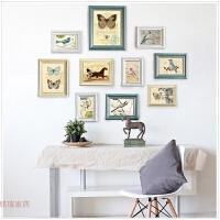 世纪欧式相框画框摆台5寸6寸7寸8寸10寸12寸A4挂墙复古相框生活日用居家