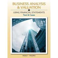 【预订】Business Analysis and Valuation: Using Financial