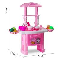 儿童过家家厨房玩具 女孩做饭煮饭厨具餐具套装宝宝切水果3-6-9岁