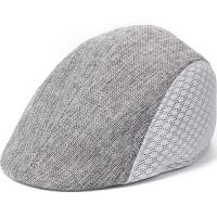 中老年男帽子春夏季老人休闲鸭舌帽薄款网帽春秋天爸爸前进老头帽