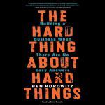 【预订】The Hard Thing about Hard Things: Building a Business W