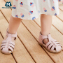 【31日0点开抢 139元任选2双】迷你巴拉巴拉男女宝宝凉鞋夏新品童鞋耐磨柔软包头鞋婴儿鞋子