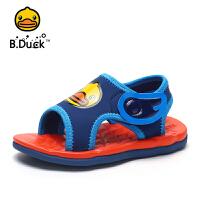 【2件25折:62.25元】B.Duck小�S��童鞋男童�鲂�2020夏季�和�露趾沙��鲂�透������鲂�B2985908