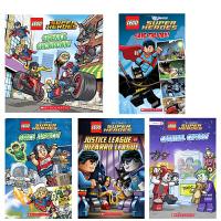 英文原版童书 Lego DC Super Heroes Comic Reader 7册 乐高DC英雄漫画版系列 4-8