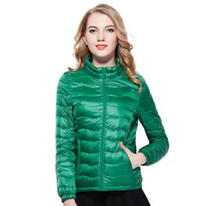 雅鹿羽绒服女短款 轻薄休闲时尚外套 户外修身冬装潮 YQ1103010