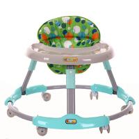 婴儿学步车多功能防侧翻可折叠手推可坐男宝宝女孩学行车6-18个月