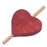 孔明锁大号 一箭穿心 古典儿童智力玩具解锁木制玩具鲁班锁