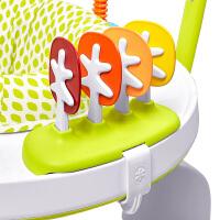 婴儿跳跳椅健身架宝宝音乐游戏桌可折叠学步跳现货 现货新款跳跳椅