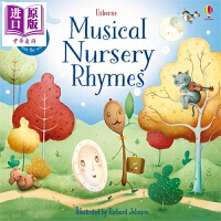 【中商原版】音乐童谣(发声书)Musical Nursery Rhymes 低幼韵律启蒙 发声书 亲子绘本 板书 儿歌
