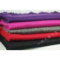 蒙马特大街秋冬新品羊绒羊毛混纺超大围巾多色羊毛大披肩