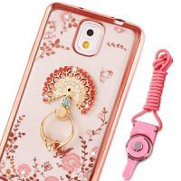 三星note3手机壳N900/SM-N9008V保护套带钻n9009指环支架