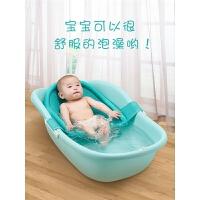 宝宝浴盆儿童沐浴大号通用 婴儿洗澡盆 可坐躺