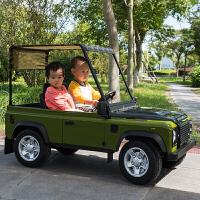 新款大型双人座位儿童电动车可坐双人四驱带遮阳棚大越野车四轮遥控宝宝玩具车儿童电动汽车男女生日礼物