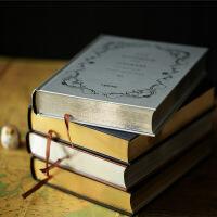 联华 复古简约 空白加厚 记事本 正版 中英文 答案之书