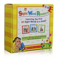 英文原版儿童绘本 Sight word Words Readers with CD 25本带音频 高频词 常见字 入门