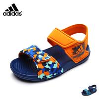 【到手价:189元】阿迪达斯adidas童鞋时尚迷彩婴幼童凉鞋轻盈宝宝学步鞋小宝宝凉鞋 BA7851