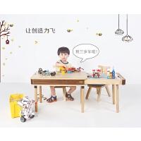 儿童学习桌积木桌幼儿宝宝游戏桌椅套装