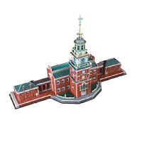 儿童立体拼图 智力拼图拼装 建筑模型玩具