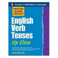 【预订】Practice Makes Perfect English Verb Tenses Up Close