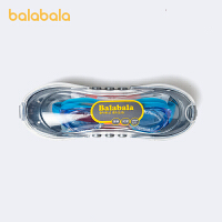 巴拉巴拉儿童泳镜防水防雾男童游泳镜简约时尚新款泳具撞色休闲潮夏