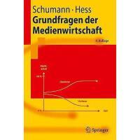 【预订】Grundfragen Der Medienwirtschaft: Eine